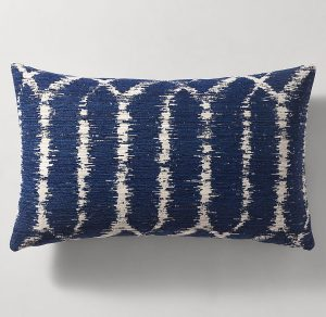 blue pillow small